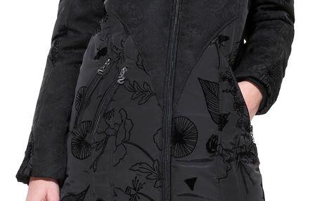Desigual černý zimní kabát Bratislava