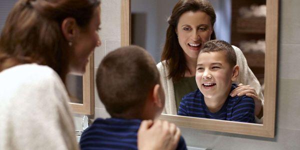 Zubní kartáček Philips Sonicare For Kids HX6322/04 bílý/zelený3