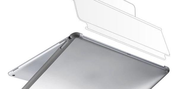 """Cellularline DUAL BACK dvojitý kryt se stojánkem pro iPad Pro 12,9"""", šedá - DUALBACKIPADPROD"""