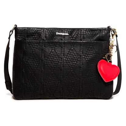 Desigual černá dámská kabelka Baqueira Glossy