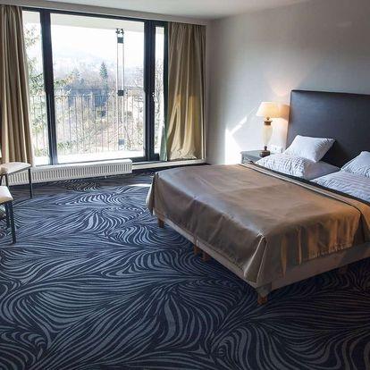 Carlsbad Inn**** u Karlových Varů s privátním wellness a polopenzí