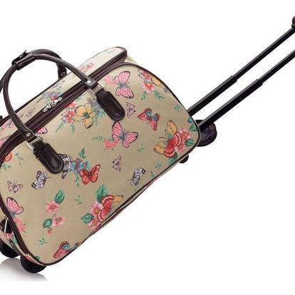 Dámská cestovní taška Nicki 308C béžová