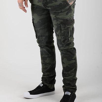 Kalhoty Alcott CARGO BASIC PANT Zelená