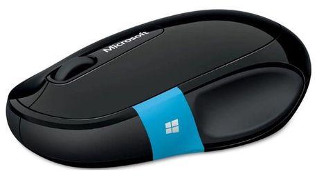 Bezdrátová myš Microsoft Sculpt Comfort Mouse Bluetooth, černá H3S-00002