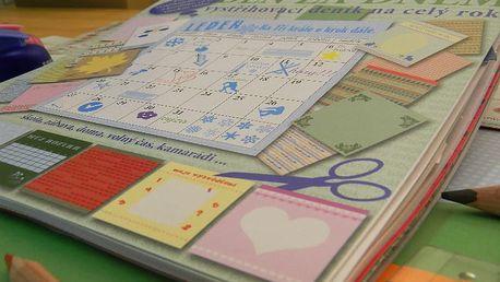 Kreativní deník pro děti vč. poštovného