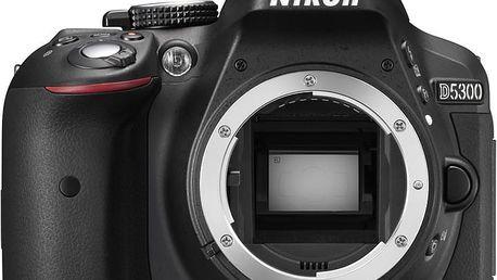 Nikon D5300, tělo černá - VBA370AE + Spací pytel Alpine Pro Saltan v ceně 999 Kč