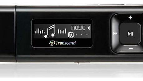 Transcend MP330 8 GB, černá