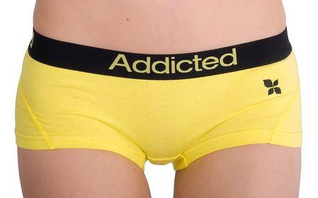 Dámské Kalhotky Addicted Žlutá L