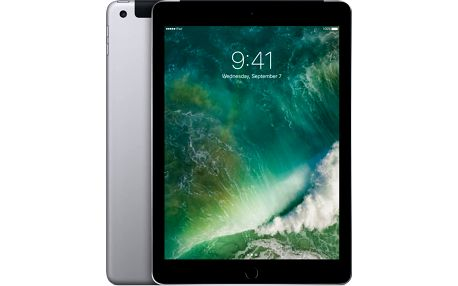 APPLE iPad 32GB, LTE, šedá - MP1J2FD/A + Zdarma GSM T-Mobile SIM s kreditem 200Kč Twist (v ceně 200,-)