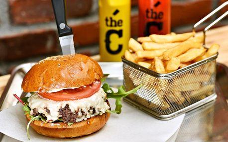 Vychytaný burger s poctivým masem dle výběru