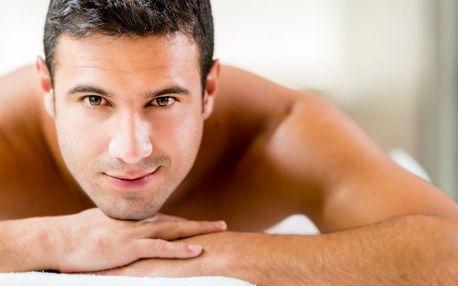 40 minut hřejivé termoakupresurní masáže