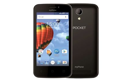Mobilní telefon myPhone POCKET (TELMYAPOCKETBK) černý Software F-Secure SAFE 6 měsíců pro 3 zařízení v hodnotě 999 Kč
