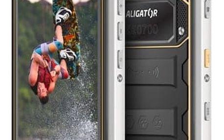 Mobilní telefon Aligator RX550 eXtremo Dual SIM (ARX550BY) černý/žlutý + DOPRAVA ZDARMA