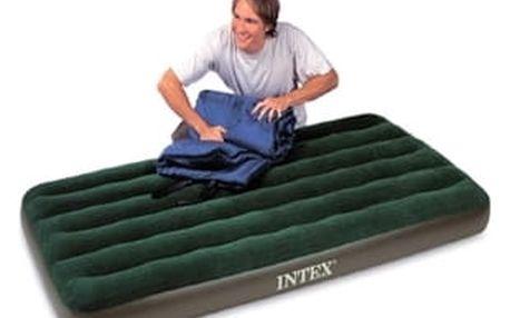 Intex Nafukovací postel DOWNY BED 99 x 191 x 22 cm