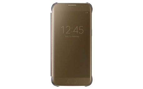 Samsung Clear View Cover pro S7 (G930) Gold