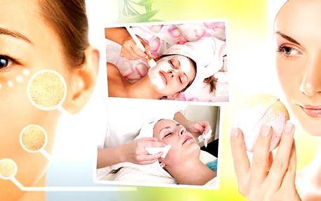 Hloubkové čištění pleti nebo kompletní kosmetické ošetření: UTZ špachtle, maska, úprava obočí, sérum aj., 20-60 min.