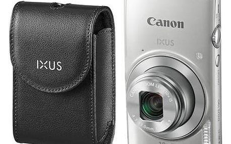 Digitální fotoaparát Canon 190 + orig.pouzdro (1797C010) stříbrný