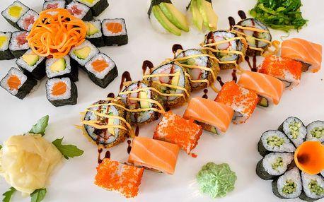 Asijská hostina v srdci Brna: 40 kousků sushi