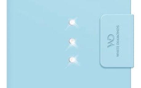 Pouzdro na mobil flipové White Diamonds Crystal Wallet pro iPhone 6/6s (WD-1312TRI65) modré