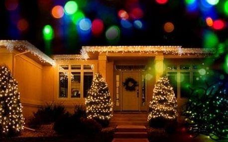 Vánoční LED řetěz na stromeček, balkon či terasu