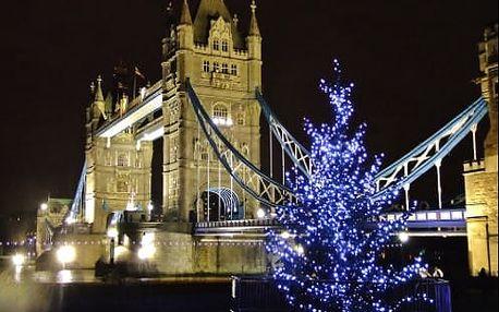 Kouzelný adventní Londýn 4 denní zájezd s ubytováním