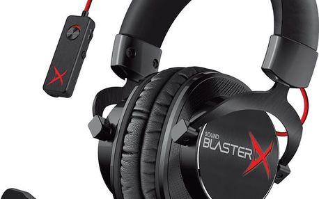 Creative Sound BlasterX H7 Tournament Edition, černá - 70GH033000001