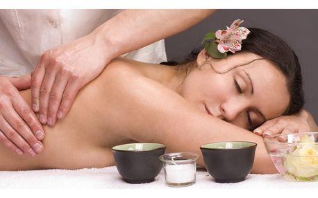 85 minut relaxu: nabitý masážní balíček