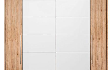Skříň s posuvnými dveřmi joker, 315/225/61 cm