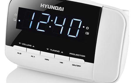 Radiobudík Hyundai RAC 481 PLLWW bílý