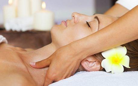 Indická masáž hlavy pro odbourání stresu