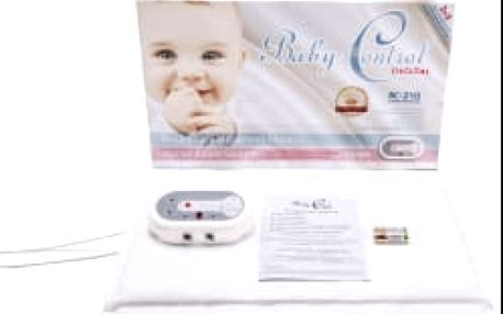 BABY Control Digital BC-210 - se dvěma senzorovými podložkami - monitor dechu