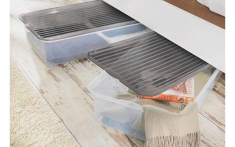 Úložný box pod postel rita, 76/17/39 cm