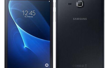 """Dotykový tablet Samsung Tab A (7.0, 2016) 8 GB, Wi-Fi (SM-T280NZKAXEZ) černý 7"""", 8 GB, WF, BT, GPS, Android 5.1 + DOPRAVA ZDARMA"""