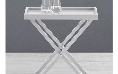 Odkládací stolek klipp, 55,50/62/35 cm