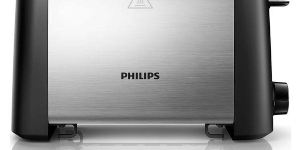 Opékač topinek Philips Daily Collection HD4825/90 černý/nerez2