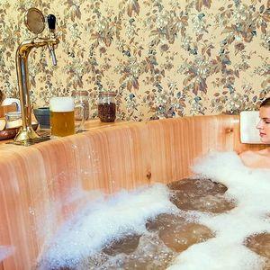 Pohoda v rodinném pivovaru s lázní a degustací