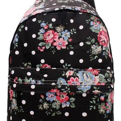 Dámský černý batoh Florieta 1401F