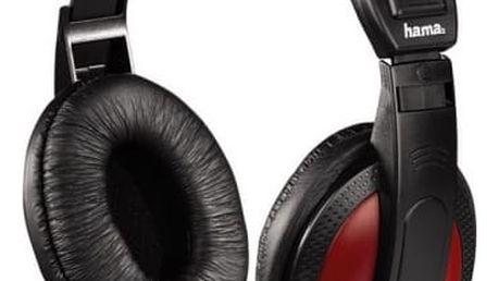 Sluchátka Hama HK-5618 (135618) černá/červená
