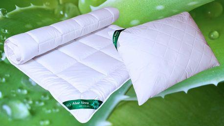Zimní lůžkoviny Aloe Vera, které zahřejí