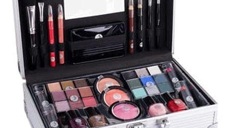 2K Fabulous Beauty Train Case dekorativní kazeta dárková sada W - Complete Makeup Palette