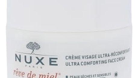 NUXE Reve de Miel Ultra Comforting Face Cream 50 ml denní pleťový krém pro ženy