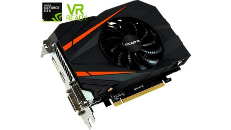 GIGABYTE GeForce GTX 1060 Mini ITX OC 3G, 3GB GDDR5 - GV-N1060IXOC-3GD