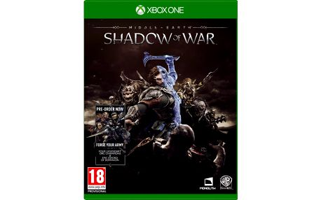 Middle-Earth: Shadow of War (Xbox ONE) + Prsten The One Ring + Otvírák Elfské kovářské kladivo