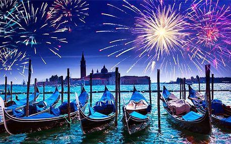 3denní silvestrovský zájezd pro 1 do Benátek s prohlídkou města