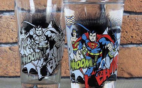 Sklenička měnící barvu DC Comics