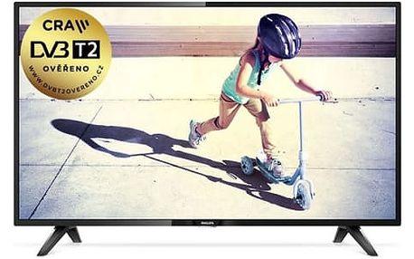 Televize Philips 43PFS4112/12 černá