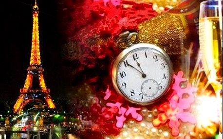 Užijte si jedinečný SILVESTR v Paříži. 4 denní zájezd s ubytováním, průvodcem a dopravou.