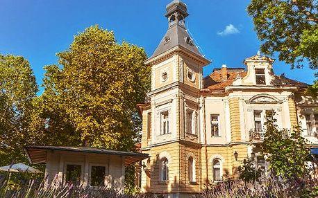 Jókai Villa****, Romantický wellness pobyt v hlavním městě Balatonu
