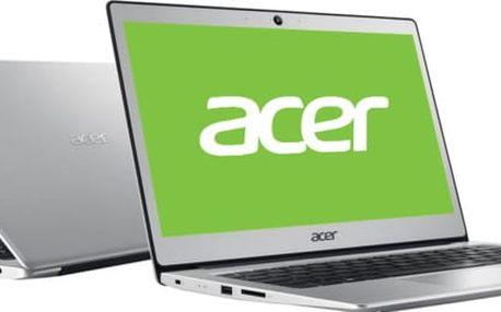 Acer Swift 1 celokovový (SF113-31-P56D), stříbrná - NX.GNKEC.001