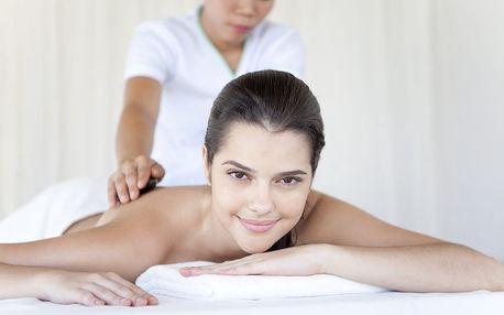60min. masáž od asijských masérek s dlouholetou praxí